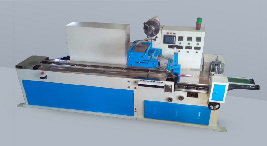 Flow wrap machines distributers