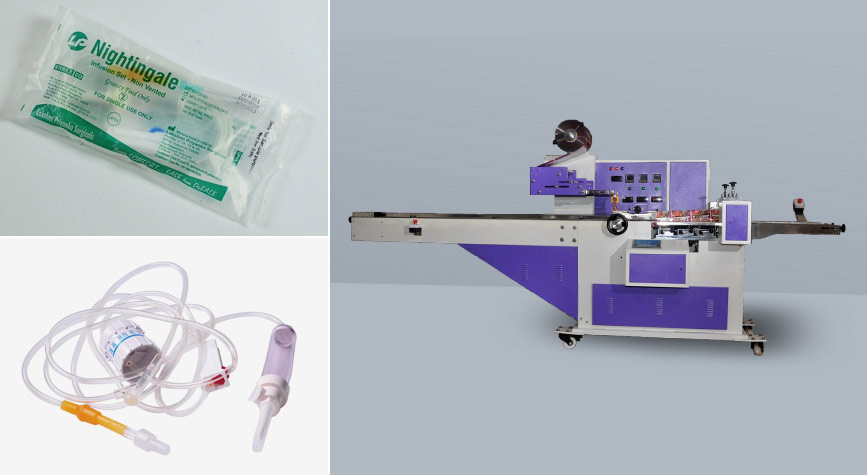 IV fluid set packing machines supplier