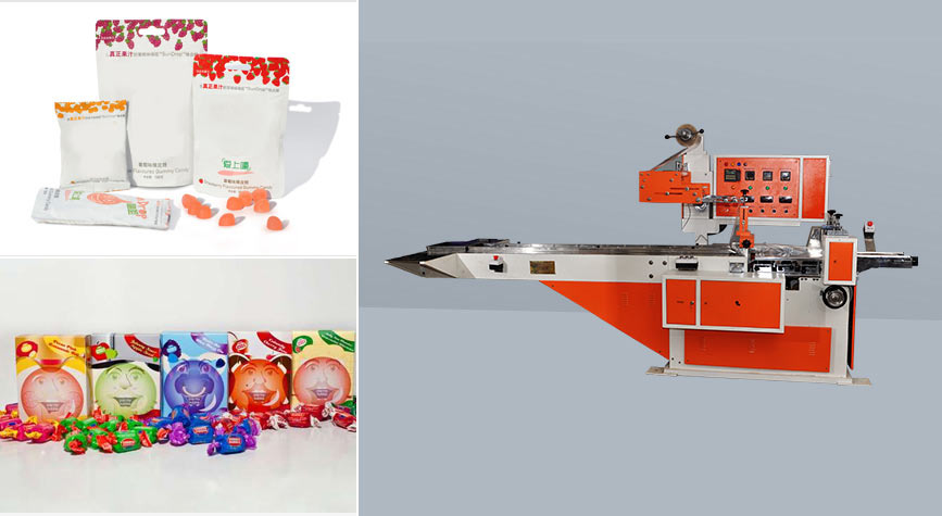 Candies packing machines exporters