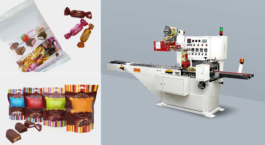 Chocolates packaging machines manufacturers