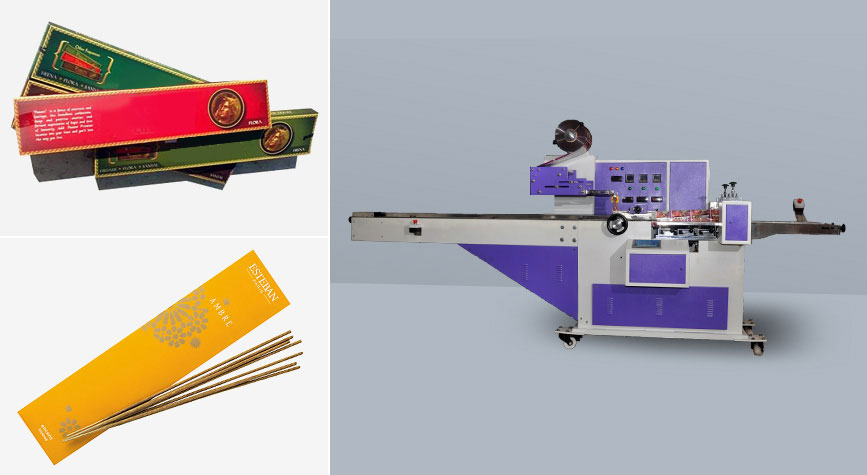 Incense sticks packaging machinery exporter