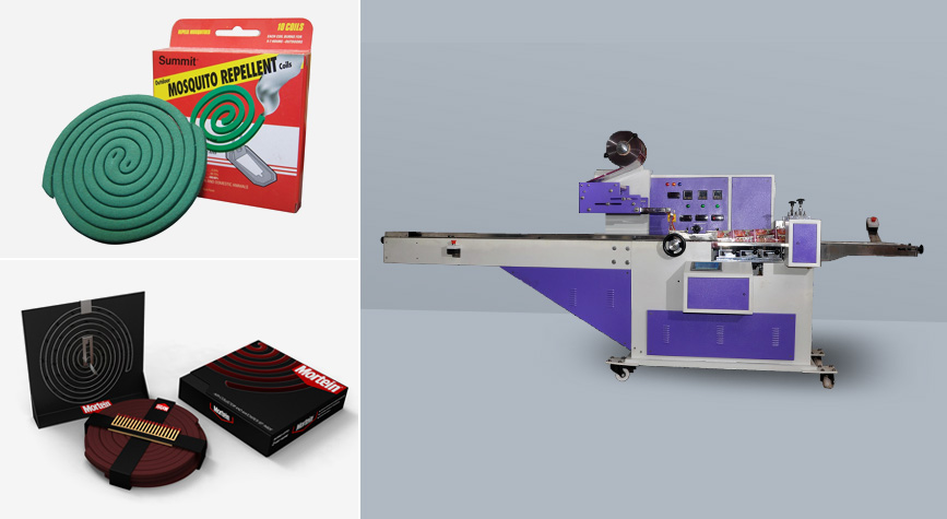 Mosquito coil packing machinery manufacturer