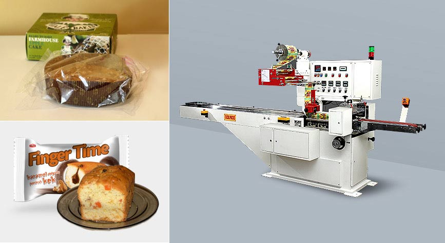 Plum cake packing machine exporter
