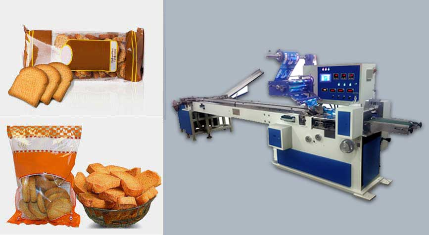 Rusk packing machine exporter
